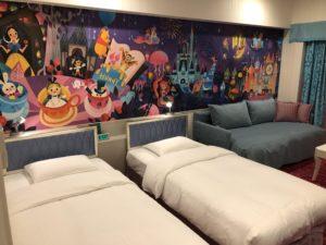 セレブレーションホテルの部屋