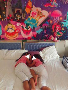 セレブレーションホテルのベッド