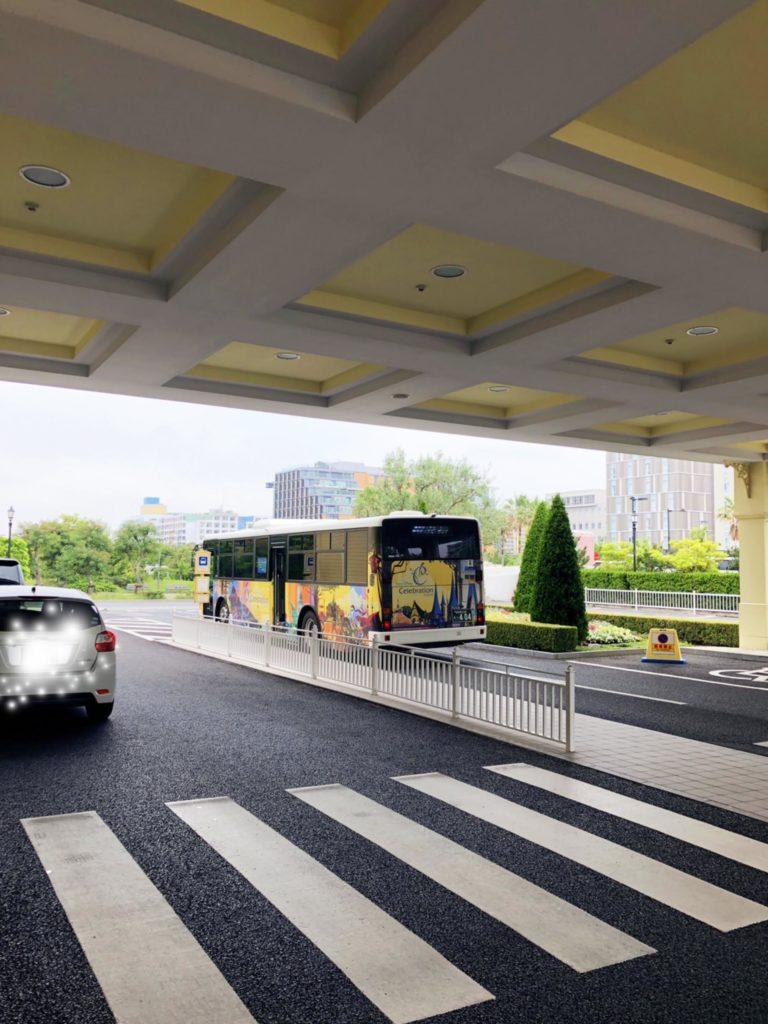 セレブレーションホテルからのシャトルバス